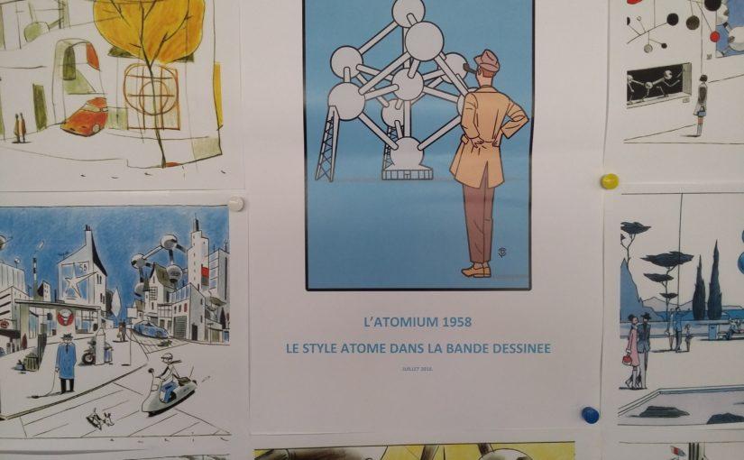 Thématique BD : le style atome